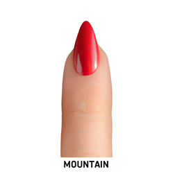 mountain nail shape