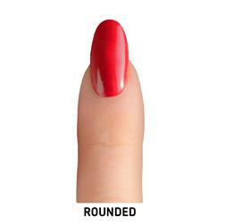 rounded nail shape