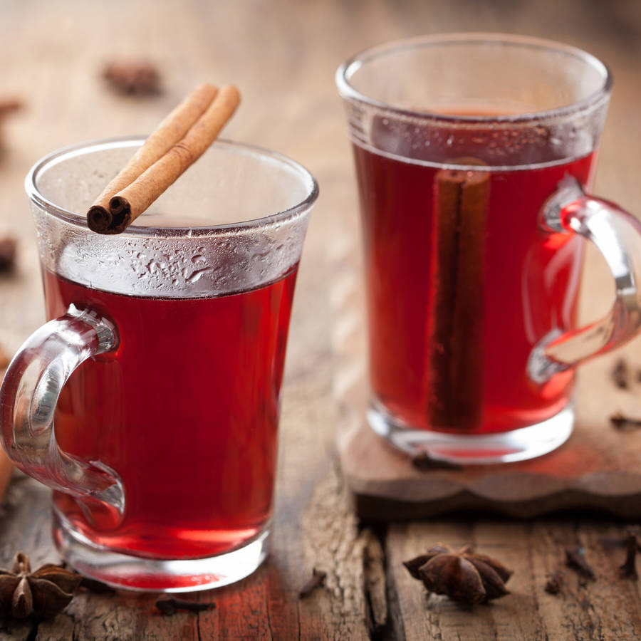Mulled Wine and Cherry Brandy red nail polish