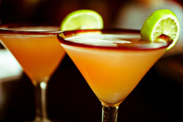 Pure desire peach nail polish and pear lime martini punch
