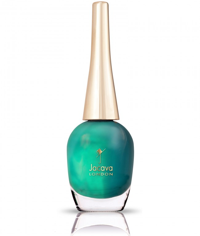CHILLAX TURQUOISE GREEN NAIL POLISH