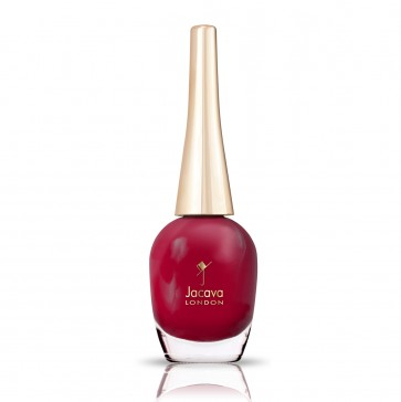 Deep Raspberry Red Nail Polish - Passion