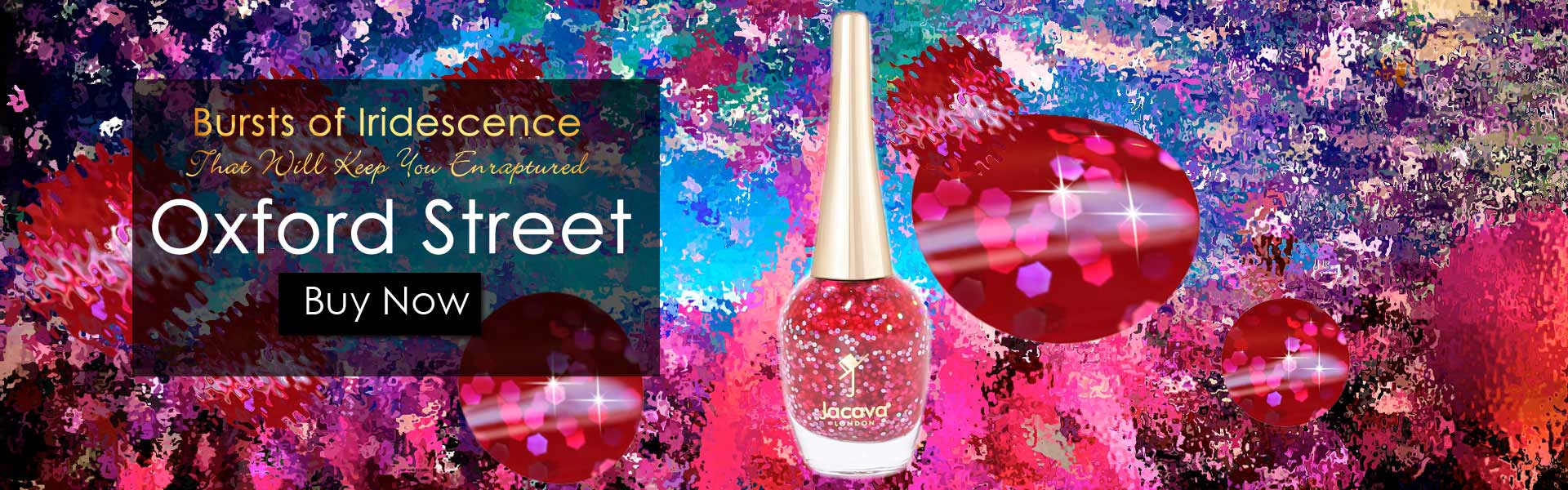 Oxford Street Glitter Nail Polish