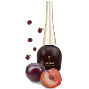 Deep Plum Red Nail Polish - Damson Delight