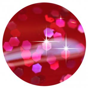 Glittery Redcurrant Red Nail Polish - Oxford Street