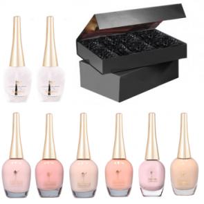 Peach Perfection Nail Polish Gift Set